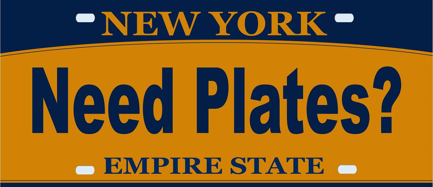 Avoid the visit to the DMV, let us obtain your plates!